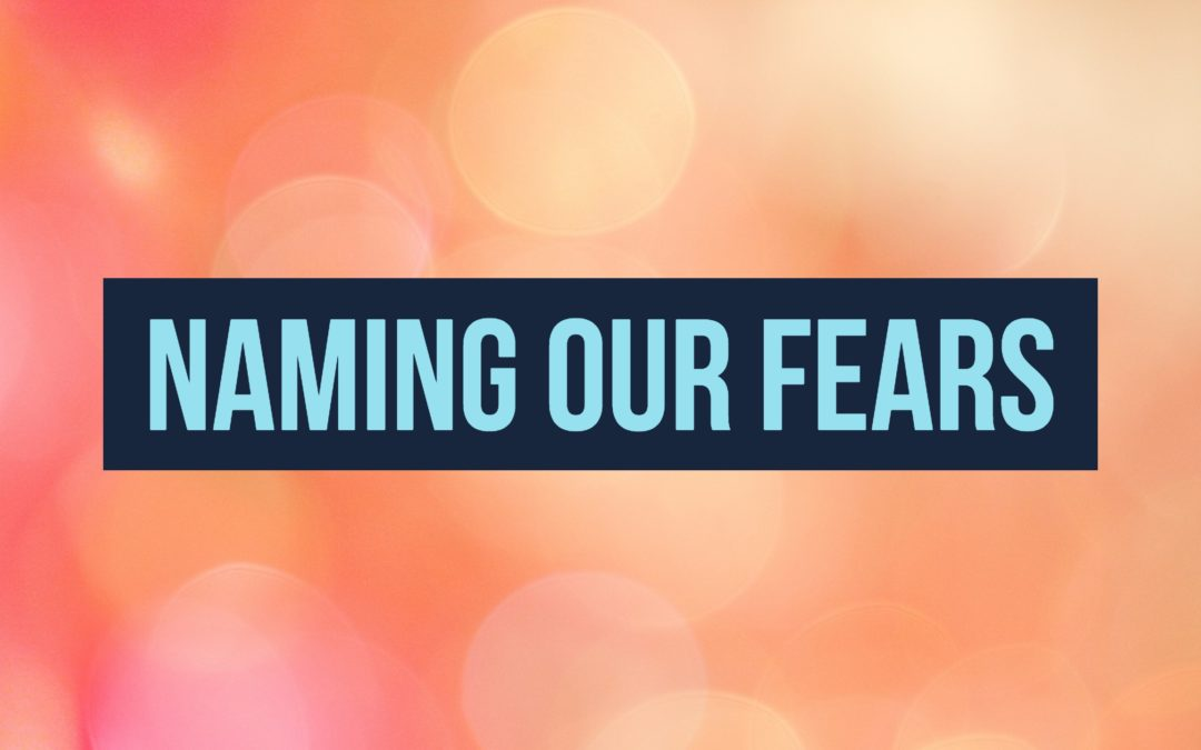 Naming Our Fears